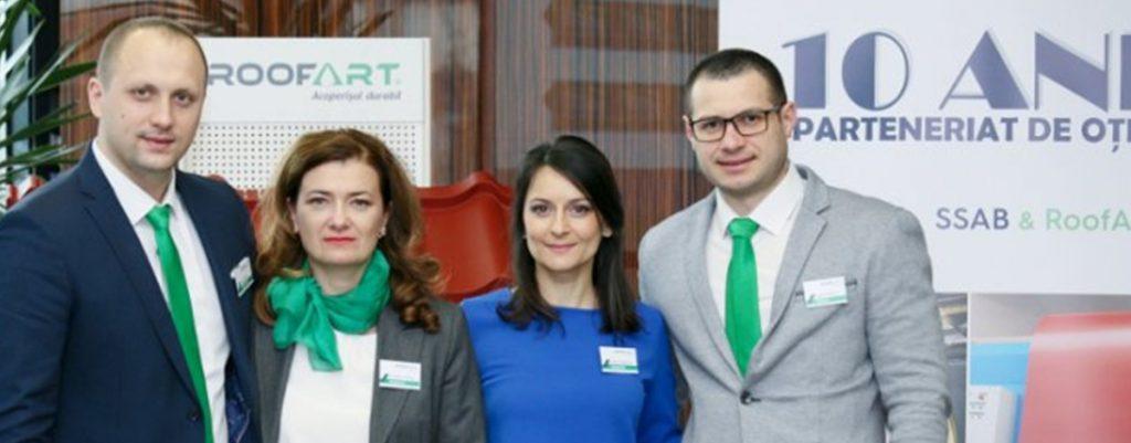 10 ani Parteneriat de Otel SSAB&RoofArt