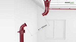 Etape montaj sistem pluvial