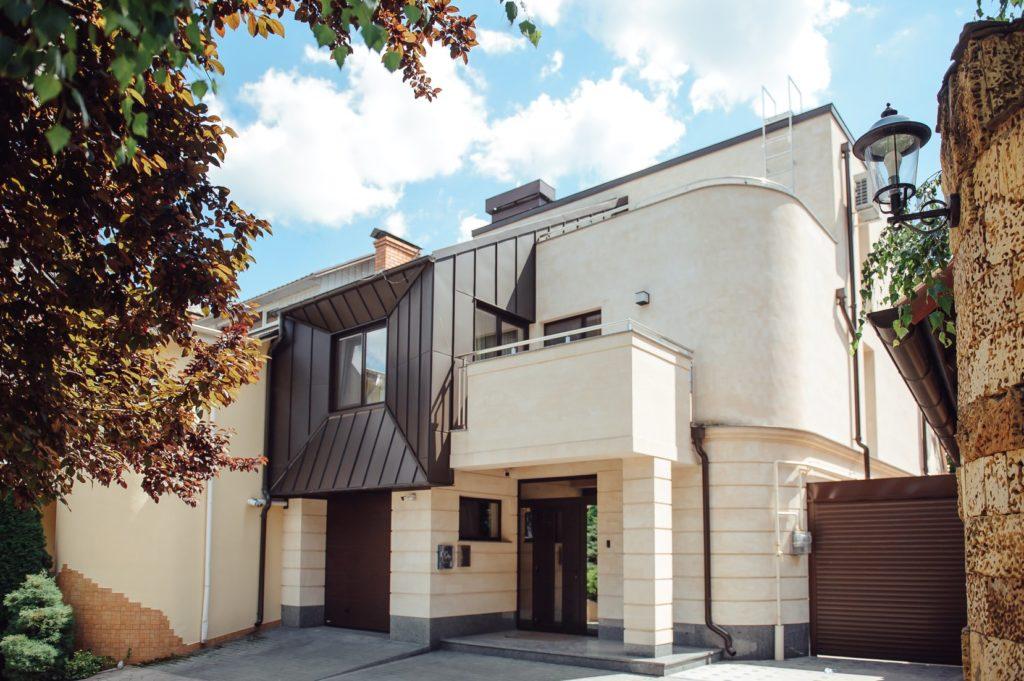Casa moderna Sistem pluvial Scandic - RoofArt
