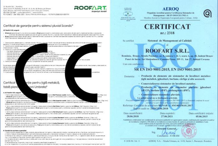 Garantiile RoofArt