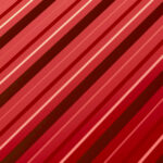 Tabla cutata RoofArt rosu RAL3011