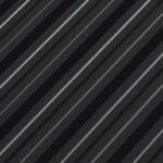Tabla cutata RoofArt negru RAL9005