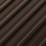 Tabla cutata RoofArt brun RAL8019