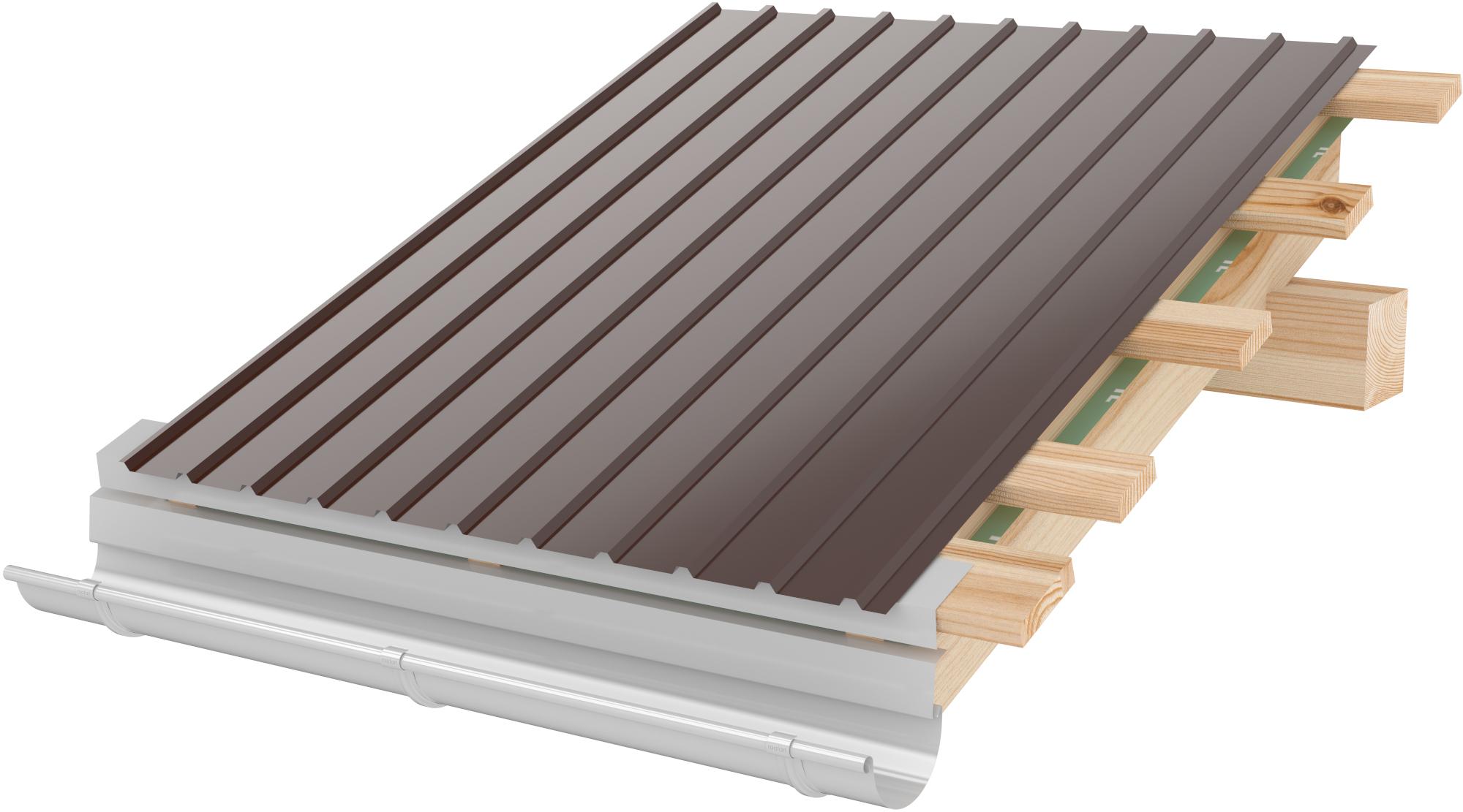 Tabla cutata RoofArt cuta 8mm