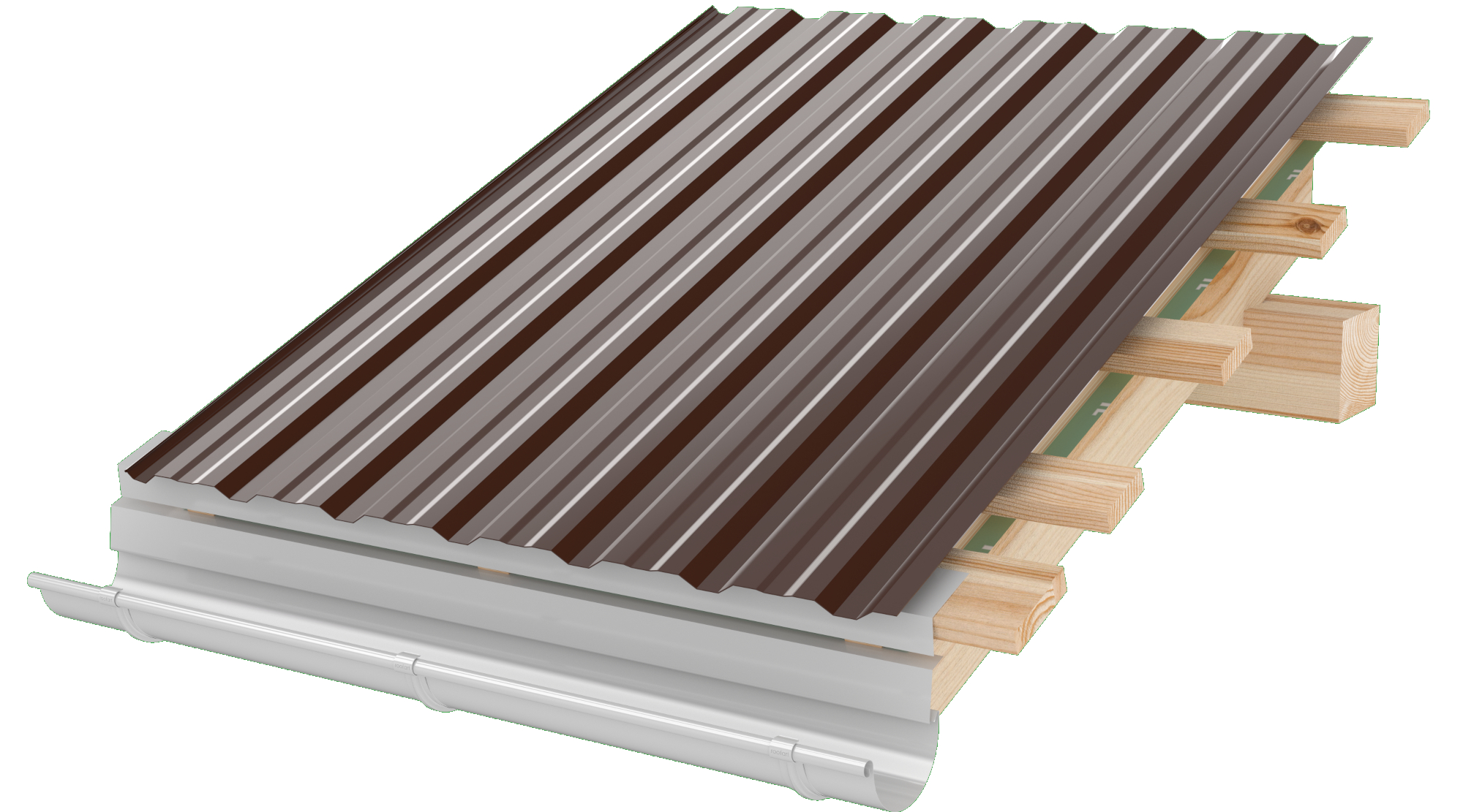 Tabla cutata RoofArt cuta 18mm